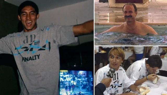 """Jardel teve o aval de Felipão; sobre Paulo Nunes, primeira reação foi: """"Não vai jogar"""" — Foto: Reprodução"""