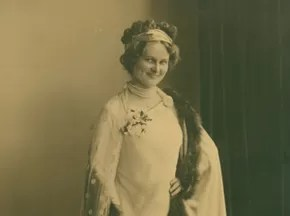 Edith Gaertner encenou textos clássicos em teatros europeus no século XX (Foto: Arquivo Histórico/FCBlu)