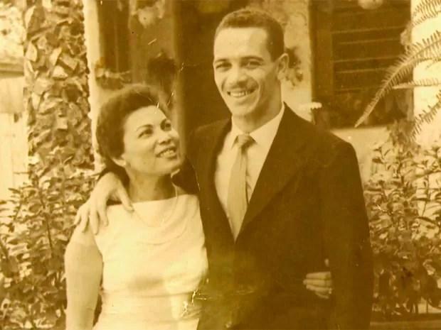 Hilda e e o jogador Paulo Valentin (Foto: Reprodução/ TV Globo)