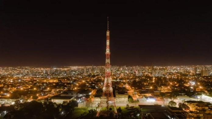 Torre da TV Morena — Foto: Gabriel Marchese/Foto