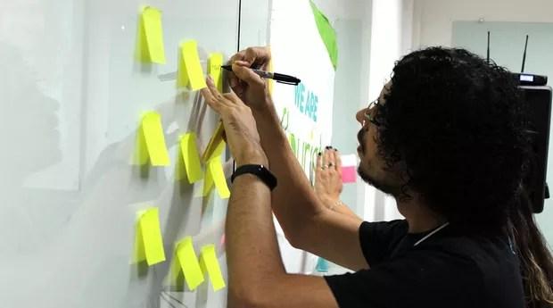 Hackathon de inclusão e educação financeira realizado pela startup Flourish em Natal (RN) (Foto: Divulgação)
