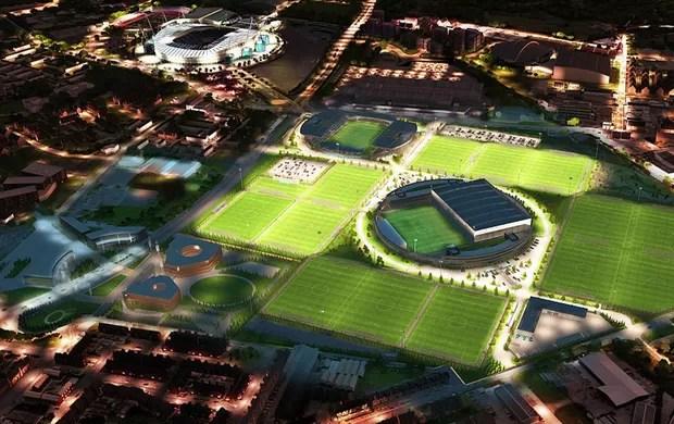 CT Manchester City (Foto: Divulgação)