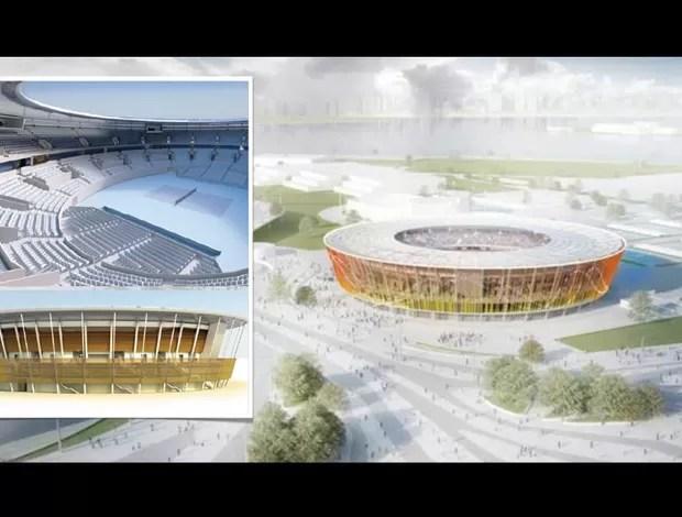 centro de tenis projeto olimpiadas (Foto: Divulgação)