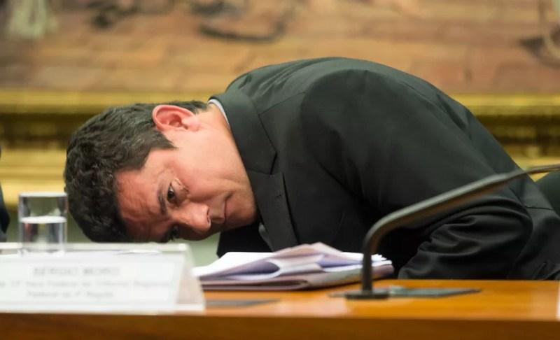 Moro durante audiência na Câmara dos Deputados (Foto: Lula Marques/Fotos Públicas/ AGPT)