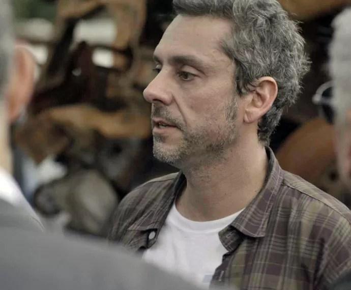 Será que Romero conseguirá trabalhar com seu rival? (Foto: TV Globo)