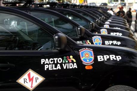Recomendações são destinadas a motoristas das viaturas da Polícia Militar de Pernambuco (Foto: Hélia Scheppa/SEI/Divulgação)