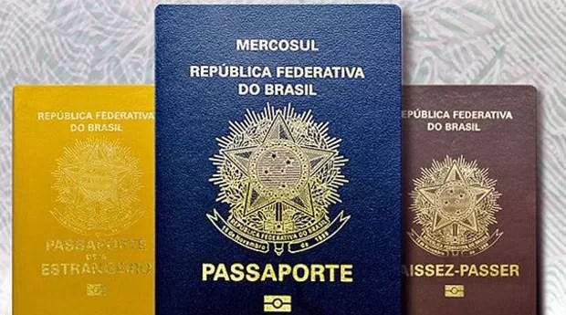 Passaporte brasileiro é o 21º de lista de mais aceitos  (Foto: Policia Federal )