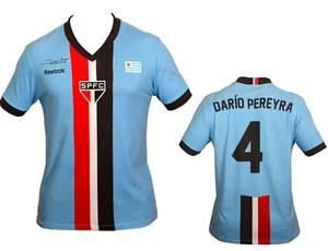 montagem Camisa São Paulo Uruguai (Foto: Luiz Pires / VIPCOMM)
