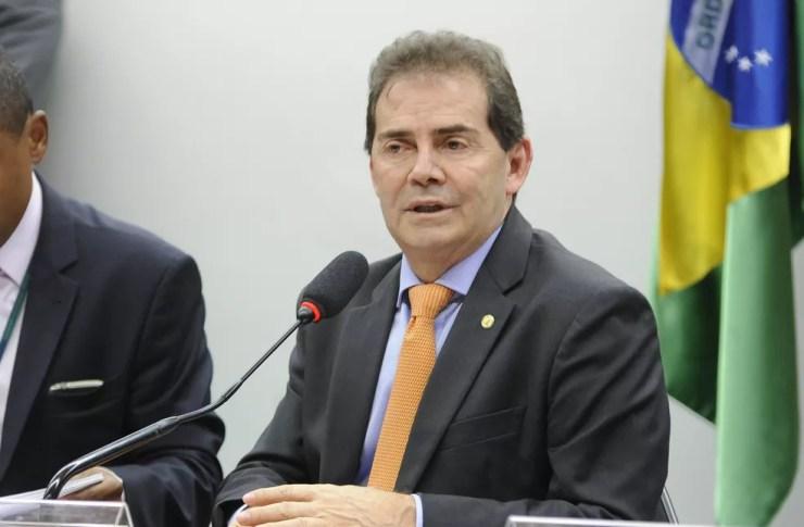 Deputado Paulinho da Força (SD-SP) durante sessão em comissão da Câmara, em junho de 2016 — Foto: Alex Ferreira / Câmara dos Deputados