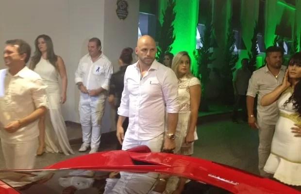 Ronaldo Miranda, ex-motorista de Cristiano Araújo e atual secretário de Marrone Goiânia Goiás (Foto: Sílvio Túlio/G1)