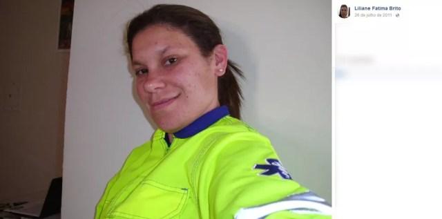 Liliane Fátima de Brito morreu após ser atropelada (Foto: Reprodução/Facebook)