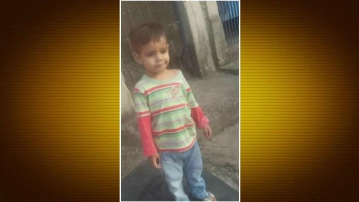 Luan, em foto da família — Foto: Reprodução/TV Globo
