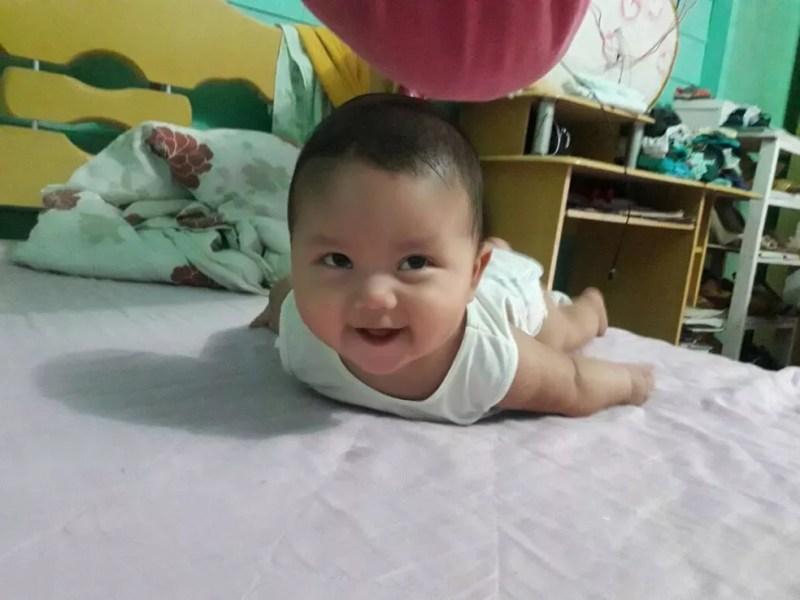 Bebê de 10 meses morreu no domingo (8), após ser atendido pelo médico (Foto: Reprodução/Arquivo Pessoal)