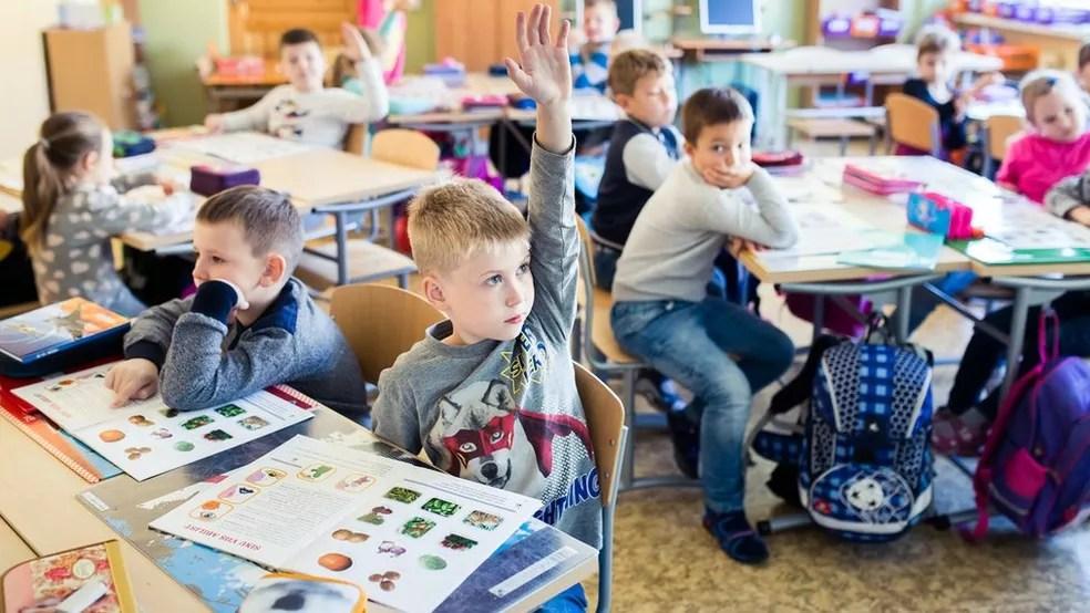 Estônia é o país da Europa com melhor desempenho no Pisa — Foto: Divugação/Ministério da Educação da Estônia