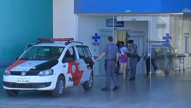 Criança de 8 anos passou por exames e laudo deve sair em até 30 dias (Foto: Reprodução/TV TEM )