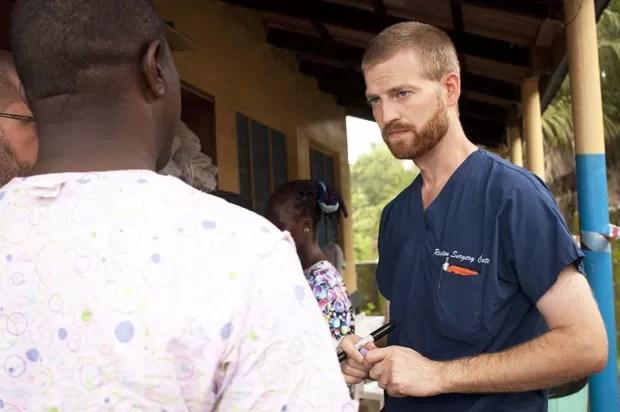 O médico americano Kent Brantly, que foi infectado pelo ebola na Libéria, em foto sem data (Foto: Joni Byker / SAMARITAN'S PURSE / AFP)