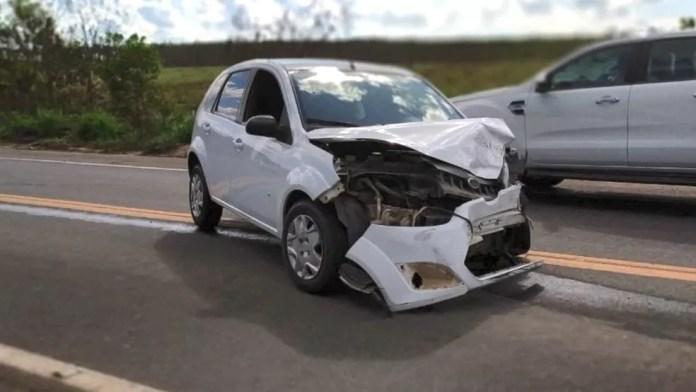 Irmão de prefeito de Linhares, Espírito Santo, morre em acidente de carro — Foto: Reprodução/ TV Gazeta