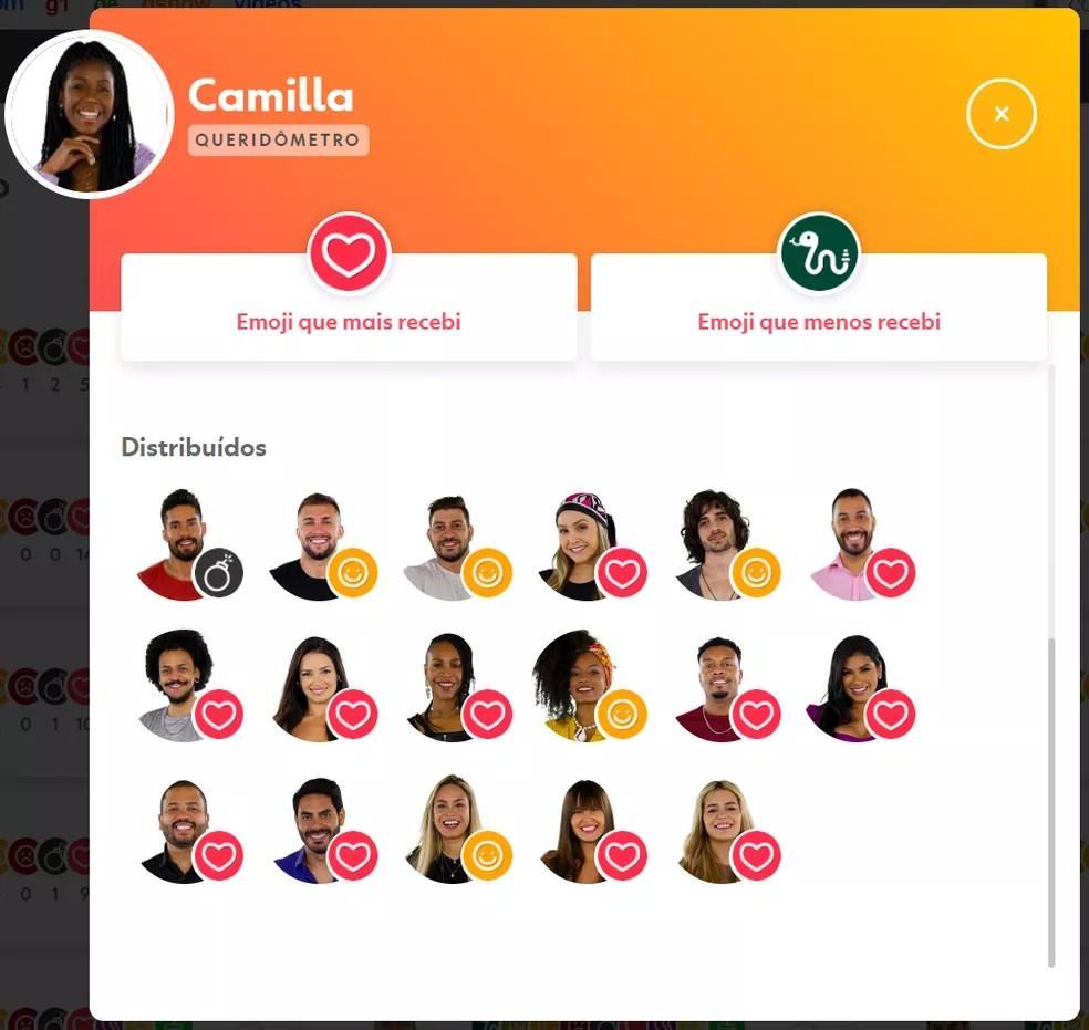 Camilla de Lucas — Foto: Globo