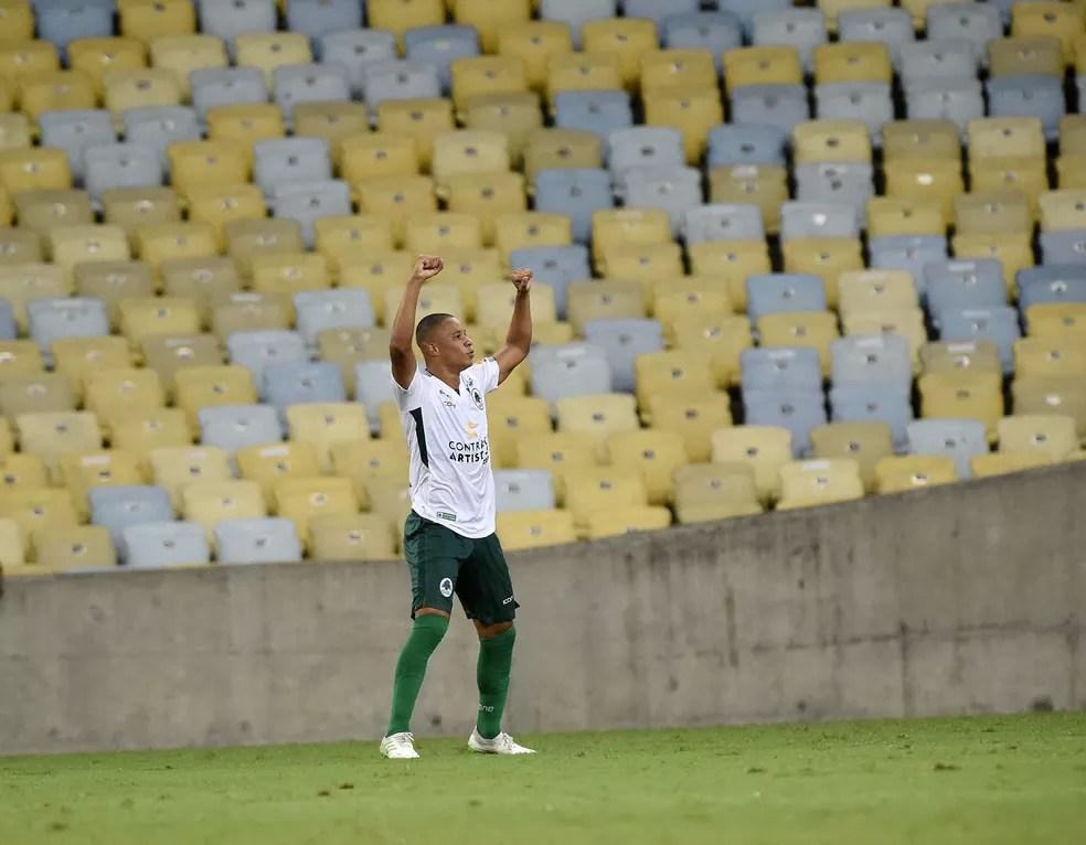 Caio Dantas jogou também pelo Boavista-RJ em 2020 — Foto: André Durão
