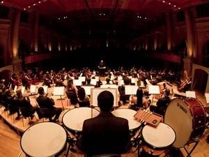 Orquestra Sinfônica Heliópolis (Foto: Renan Perobelli/Divulgação)