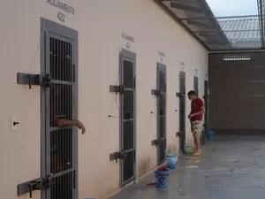 Bilhetes revelam plano de fuga em presídio de Cruzeiro do Sul (Foto: Tácita Muniz/G1)