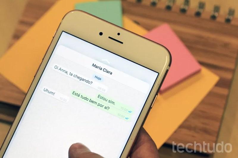Verificar as mensagens enviadas e visualizadas é um dos métodos para saber se sua conta está sendo invadida ou não — Foto: Anna Kellen Bull/TechTudo