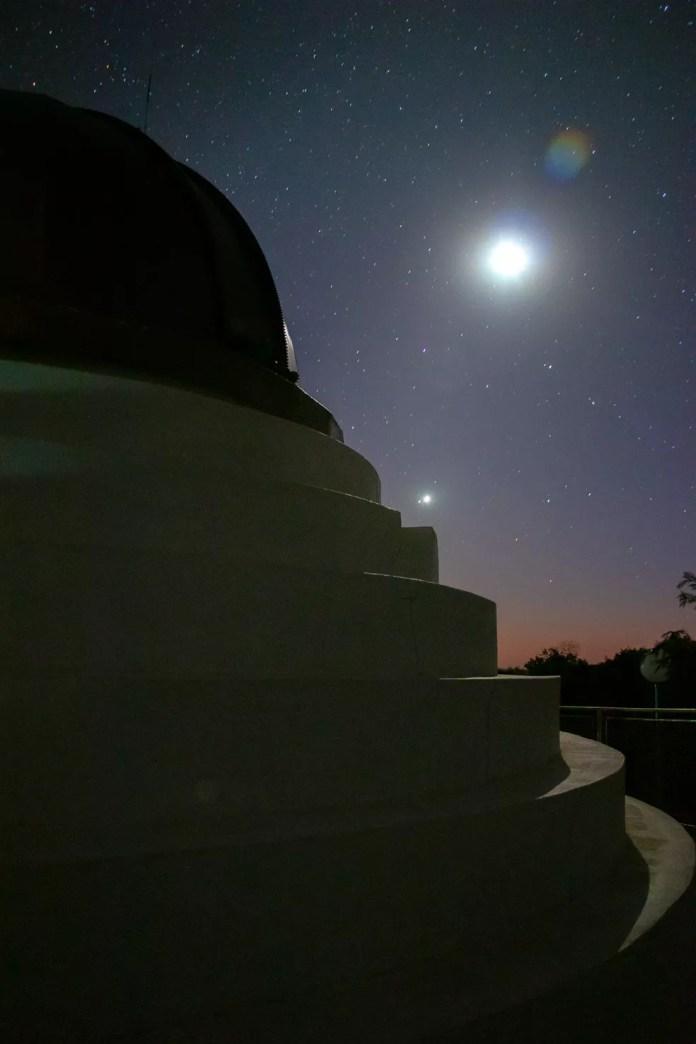 Fotografo utiliza observatório para fazer registro do céu em MS — Foto: Silas Ismael/Foto