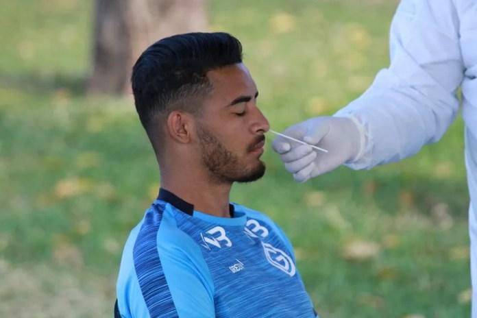 Goiás tem 10 jogadores contaminados com a Covid-19 — Foto: Rosiron Rodrigues
