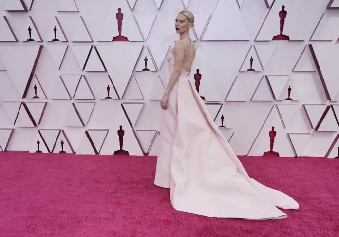 """Vanessa Kirby, indicada a melhor atriz em """"Pieces of a woman"""", no Oscar 2021 — Foto: AP Photo/Chris Pizzello"""