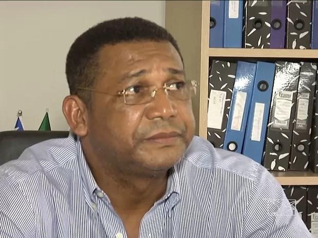 Prefeito de Monções nega as acusações de fraudes em licitações (Foto: Reprodução / TV Mirante)