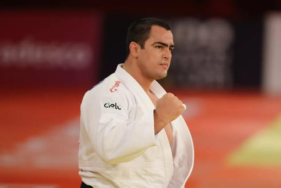 David Moura chega à final do Grand Slam de Brasília  — Foto: Abelardo Mendes Jr / rededoesporte