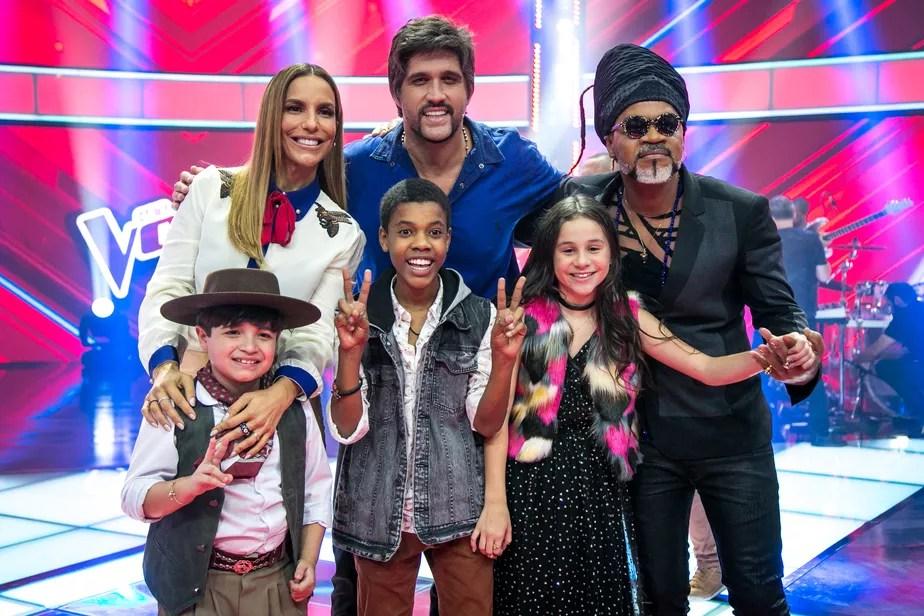 Resultado de imagem para Juan, Thomas e Valentina estão na final!