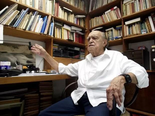 O arquiteto Oscar Niemeyer (Foto: Reuters)