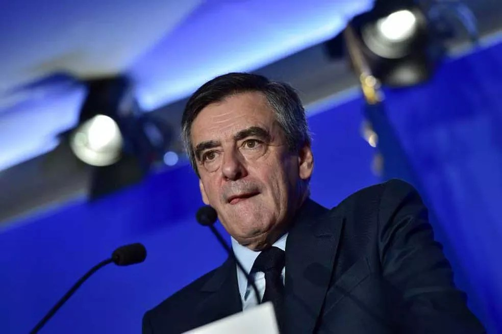O candidato da direita francesa François Fillon (Foto: Christophe Archambault / AFP)