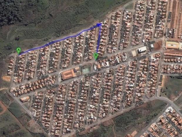 Testemunha revela nova versão para homicídio na periferia de Piracicaba (Foto: Reprodução/Google)