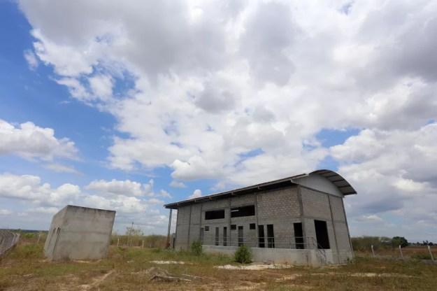 Abatedouro fica em Irará, no sertão da Bahia — Foto: Coopril/Divulgação