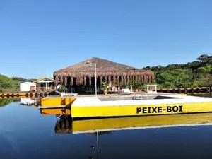 Flutuante Peixe Boi aposta no tradicionalismo  (Foto: Divulgação/ Peixe Boi Flutuante)