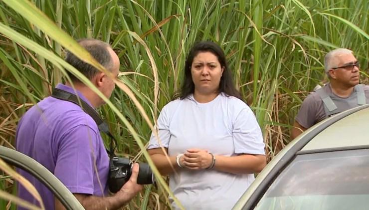 Taiana Lozano está presa desde janeiro deste ano na Penitenciária Feminina de Tremembé, SP (Foto: Ronaldo Gomes/EPTV)