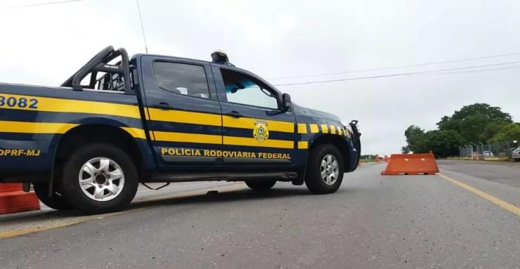 Operação intensificou fiscalização nas rodovias federais — Foto: Divulgação/PRF