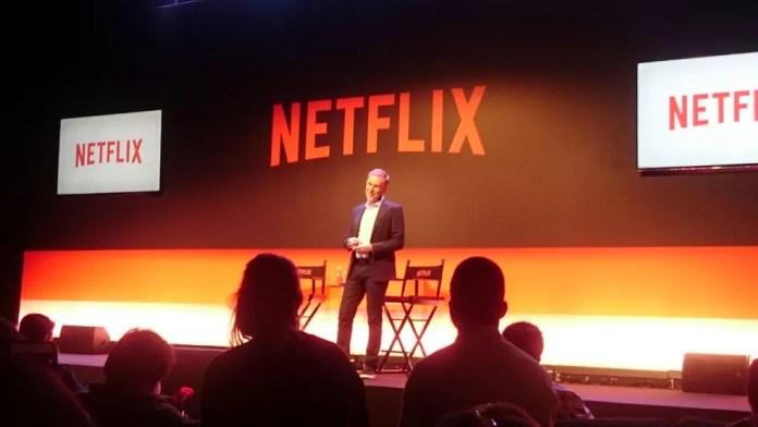 Reed Hastings, CEO da Netflix, em São Paulo (Foto: Cesar Soto/G1)