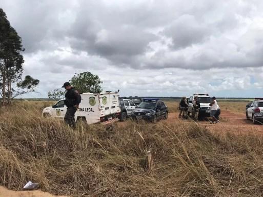 Corpo da empresária foi encontrado em uma estrada de terra entre Espírito Santo e Pedro Velho, em novembro de 2018 — Foto: Kleber Teixeira/Inter TV Cabugi