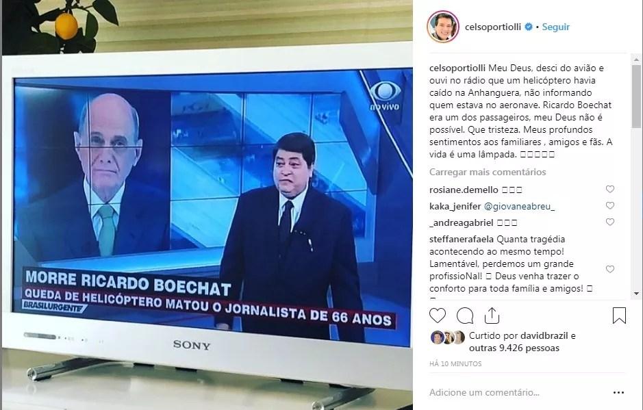 Celso Portiolli (Foto: Reprodução Instagram)
