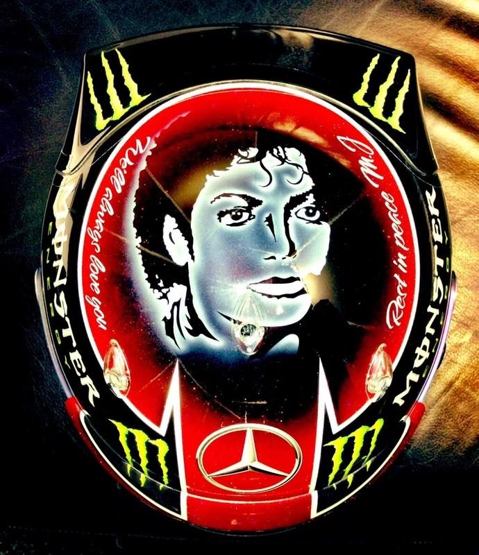 Lewis Hamilton faz homenagem ao Rei do Pop, Michael Jackson (Foto: Reprodução Twitter)