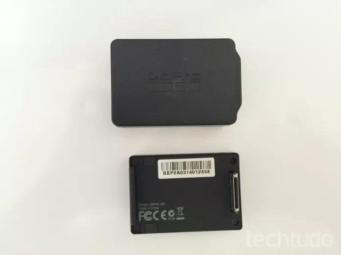 Bateria extra é ótima opção para a GoPro  (Foto: Aline Jesus/TechTudo)