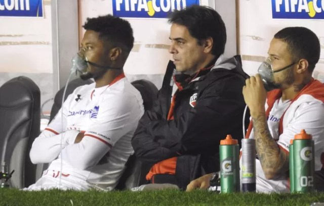 Michel Bastos e Bruno São Paulo (Foto: Marcelo Hazan)