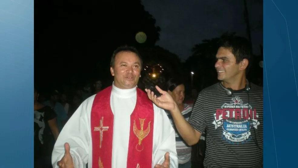 Padre Severino Melo — Foto: TV Cabo Branco/Reprodução