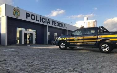 Delegacia da Polícia Federal, em Campina Grande, Paraíba. — Foto: Jackson Rondineli/TV Paraíba
