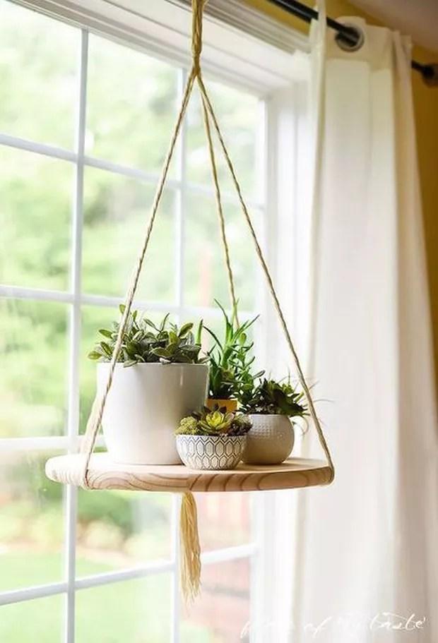 Mesa suspensa (Foto: Reprodução/Pinterest)