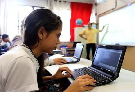 Programa aumenta chances dos jovens de ingressar no mercado de trabalho.  (Foto: Divulgação/Secretaria estadual de Educação)