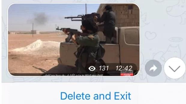 """Uso do Telegram se divide entre grupos de propaganda, onde apenas os administradores podem fazer postagens, e """"salas de bate-papo"""", onde articulações práticas sobre ataques seriam realizadas (Foto: Reprodução/Telegram)"""